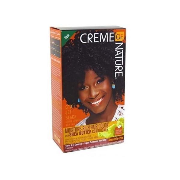 Cream of Nature Kit coloration ultra doux C10 NOIR JAIS