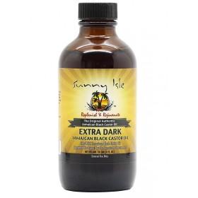 SUNNY ISLE Jamaican Extra Dark Castor Oil (huile de RICIN) 118.3ml
