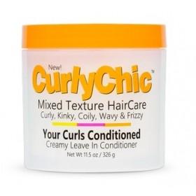 CurlyChic Leave-in cream (Creamy leave in conditioner) 326g