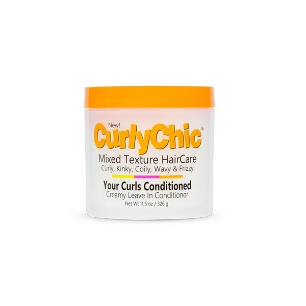 CurlyChic Leave-in crème (Creamy leave in conditioner) 326g