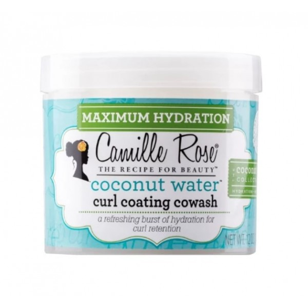 CAMILLE ROSE Crème capillaire fouettée EAU DE COCO 354ml CURL COATING WASH