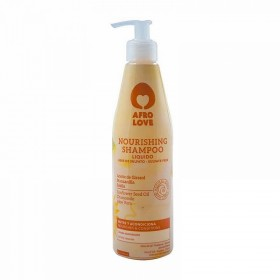 AFRO LOVE Shampooing nourrissant ALOE, CAMOMILLE, TOURNESOL 450ml