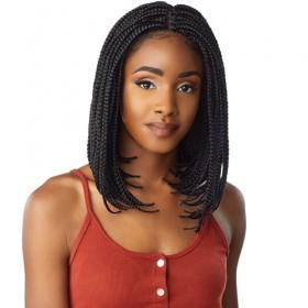 SENSAS braided wig BOX BRAID BOB (Swiss Lace)