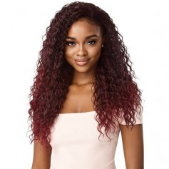 """OTHER half wig DEEP CURL 24"""" (Quick Weave)"""
