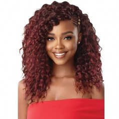 "OUTRE natte 3X BEACH CURLY 14"" (X Pression)"