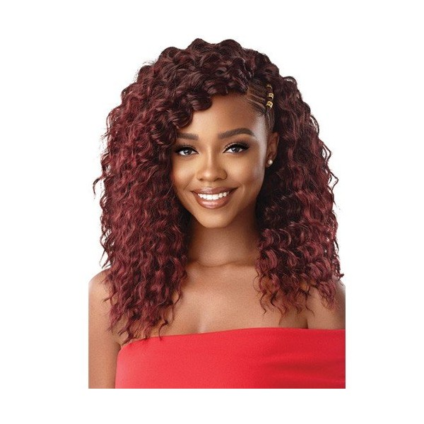 """OUTRE natte 3X BEACH CURLY 14"""" (X Pression)"""