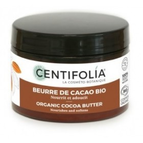CENTIFOLIA Beurre de cacao BIO 100% PUR 125ml