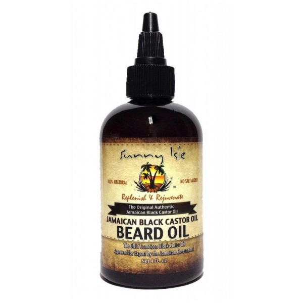 SUNNY ISLE Huile pour barbe RICIN NOIR 118ml BEARD OIL