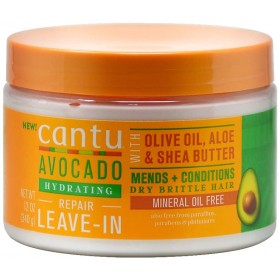 CANTU Leave-In réparateur AVOCAT & KARITÉ 340g