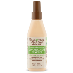 CREME OF NATURE Spray Leave-In ALOE & RICIN NOIR 236ml (Anti-Breakage Leave-In)