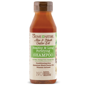 CREME OF NATURE Shampooing ALOE & RICIN NOIR 355ml (Fortifying)