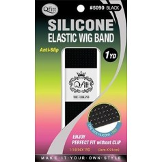 Elastic silicone band for wig holding