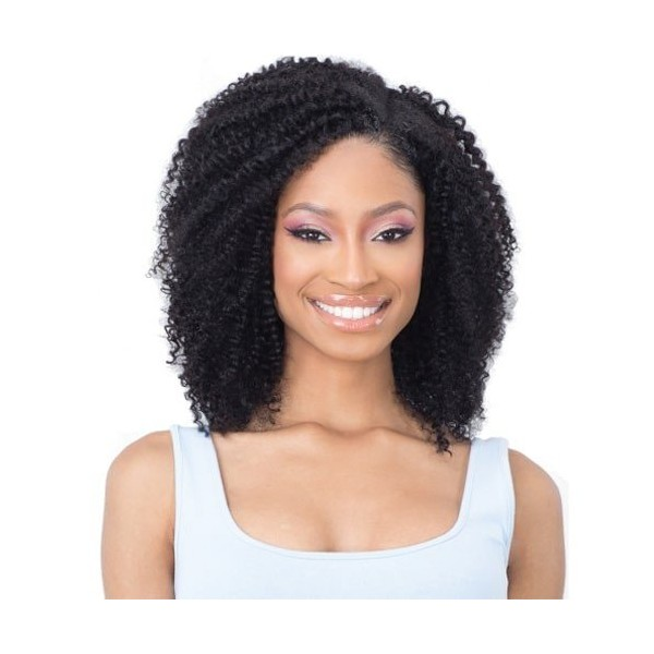 """MILKYWAY Naked Extensions à Clips COIL CURL 14"""" (Clip-In)"""