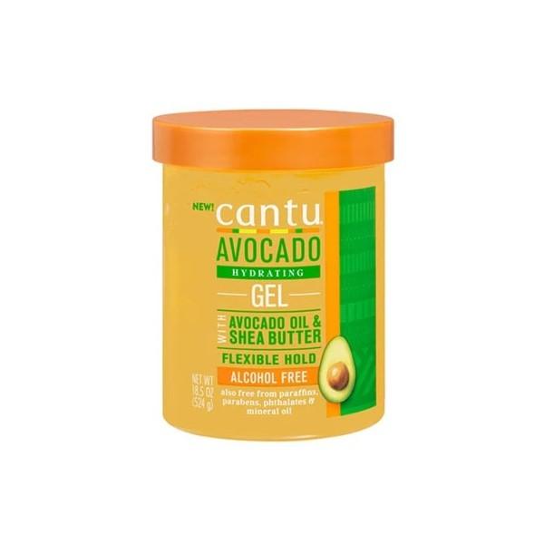 CANTU Gel hydratant AVOCAT & KARITÉ 524g