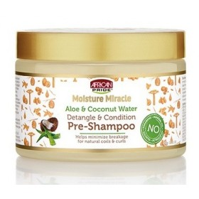 AFRICAN PRIDE Avant shampoing Aloé vera & Coco (Moisture Miracle) 340g Catalogue Produits