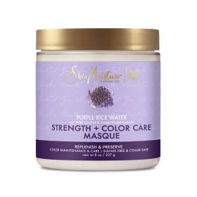 SHEA MOISTURE Masque capillaire EAU DE RIZ POURPRE 227g (Strength & Color Care)