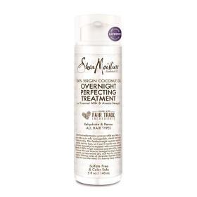 SHEA MOISTURE Traitement capillaire nuit 100% VIRGIN COCONUT OIL 148ml (Overnight Perfecting Treatment)