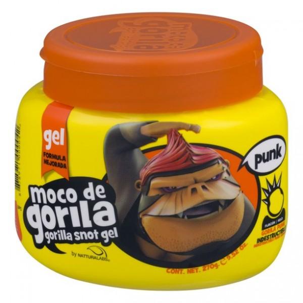 MOCO DE GORILA Gel capillaire 270g (Gorilla Snot Gel Punk Jar Yellow)
