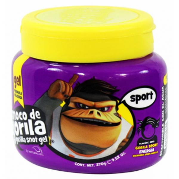 MOCO DE GORILA Gel capillaire 340g (Gorilla Snot Gel Sport Jar Purple)