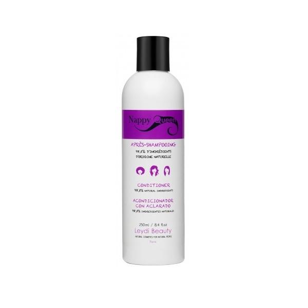 NAPPY QUEEN Après shampooing pour cheveux bouclés à crépus (et défrisés) 250ml