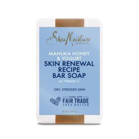 SHEA MOISTURE Revitalizing Soap MANUKA YOGURT 227g (Skin Renewal Recipe Soap) - SUPERBEAUTE.fr