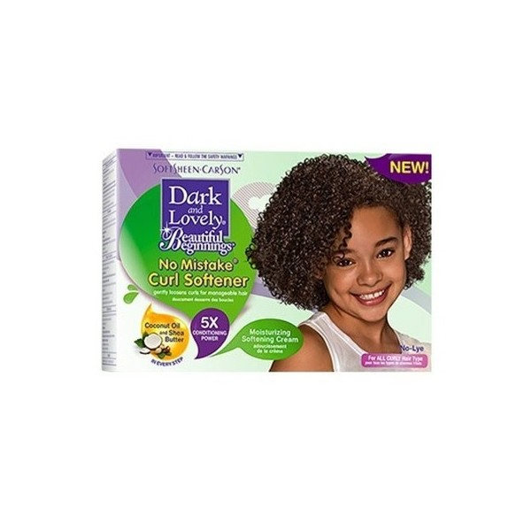 BEAUTIFUL BEGININGS DARK AND LOVELY Kit assouplissant enfants NO-MISTAKE COCO KARITE