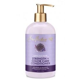 SHEA MOISTURE Après-shampooing EAU DE RIZ POURPRE 370ml (Strength & Color Care)