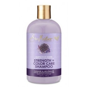 SHEA MOISTURE Shampooing EAU DE RIZ POURPRE 370ml (Strength & Color Care)