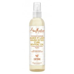 SHEA MOISTURE Spray huile COCO WASH N GO 237ml (Coconut Custard)