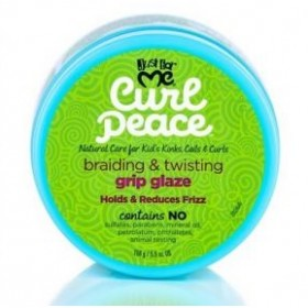 JUST FOR ME Beurre capillaire pour tressage GRIP GLAZE 156g (Curl Peace)