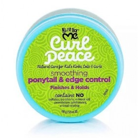 JUST FOR ME Smoothing Nutritional Butter PONYTAIL & EDGE CONTROL 156g (Curl Peace)