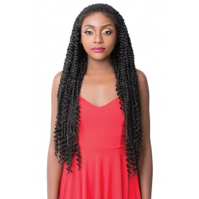 IT'S A WIG perruque PASSION TWIST STYLE (Swiss Lace Front)