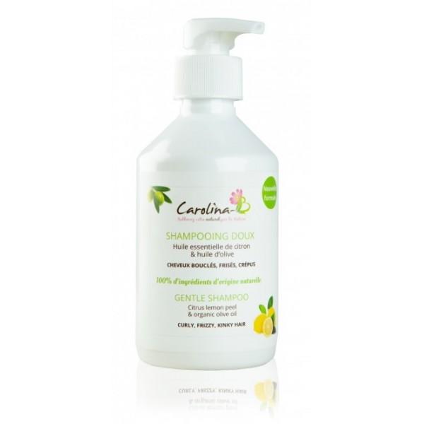 CAROLINA B Shampoing Doux CITRON & OLIVE 300ml