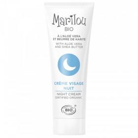 MARILOU ORGANIC ALOE & JOJOBA Night Cream 30ml