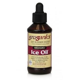 GROGANICS Huile rafraîchissante cuir chevelu 118ml ICE OIL