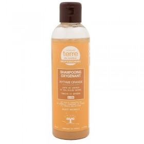 TERRE DE COULEUR Shampooing oxygénant CANNELLE, GINGEMBRE & CITRON 200ml (Rythme Orange)