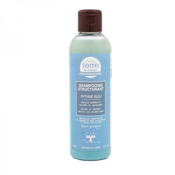TERRE DE COULEUR Shampooing structurant LAVANDE & BAIE DE GENIEVRE 200ml (Rythme Bleu)
