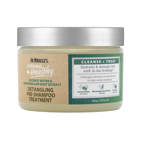 DR.MIRACLE'S Traitement démêlant avant-shampooing COCO & MARSHMALLOW 340g (Strong & Healthy)