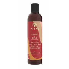 AS I AM Leave-In réparateur RICIN NOIR DE JAMAIQUE 237ml (Restore & Repair)