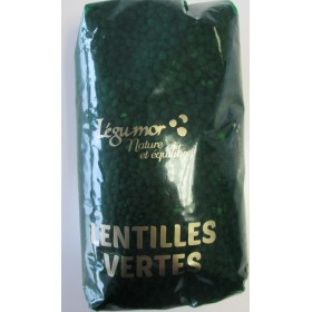 LEGUMOR- Lentilles vertes 500g