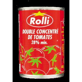 ROLLI Double tomato paste 28% 440g - SUPERBEAUTE.fr