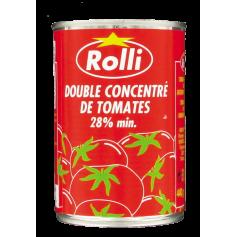 Double concentré de tomates 28% 440g