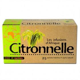 LES INFUSIONS D'AFRIQUE Plante à infusion CITRON 100 % naturelle (25 x 1.6g) - SUPERBEAUTE.fr