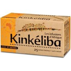 LES INFUSIONS D'AFRIQUE Plante à infusion KINKÉLIBA 100 % naturelle (25 x 1.6g)