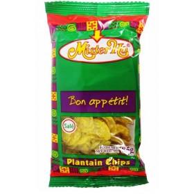 MISTER OH Chips salés BANANE PLANTIN 85g