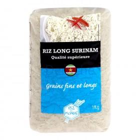RIZ DU MONDE Riz long Surinam 1kg