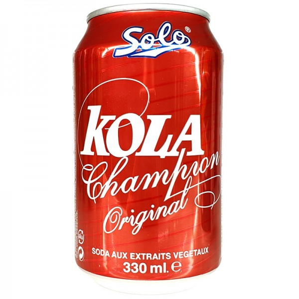 SOLO Soda KOLA CHAMPION 33cl