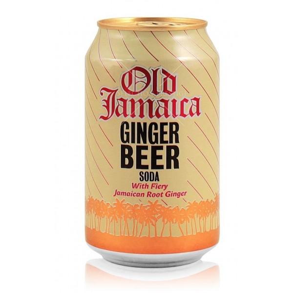 OLD JAMAICA Soda au gingembre 33cl