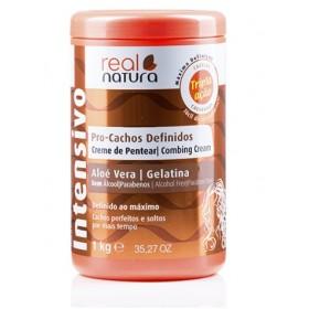 REAL NATURA Crème définissante pour boucles à l'ALOE 1kg (Creme de Pentear)