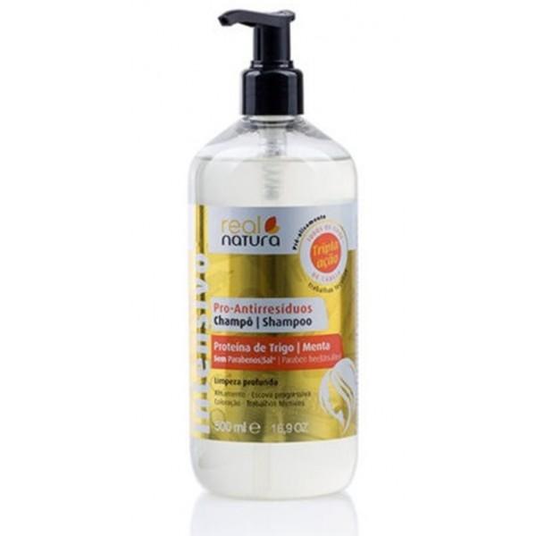 REAL NATURA Shampoing anti-pelliculaire 500ml (Pro-Antirresiduos)